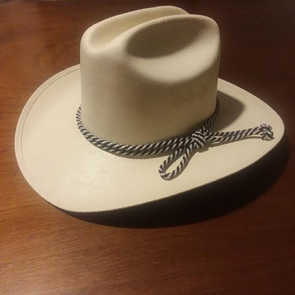 00402ef122a Alamo Hat Other - ALAMO HAT Kids Canvas Cattleman Crown Cowboy Hat